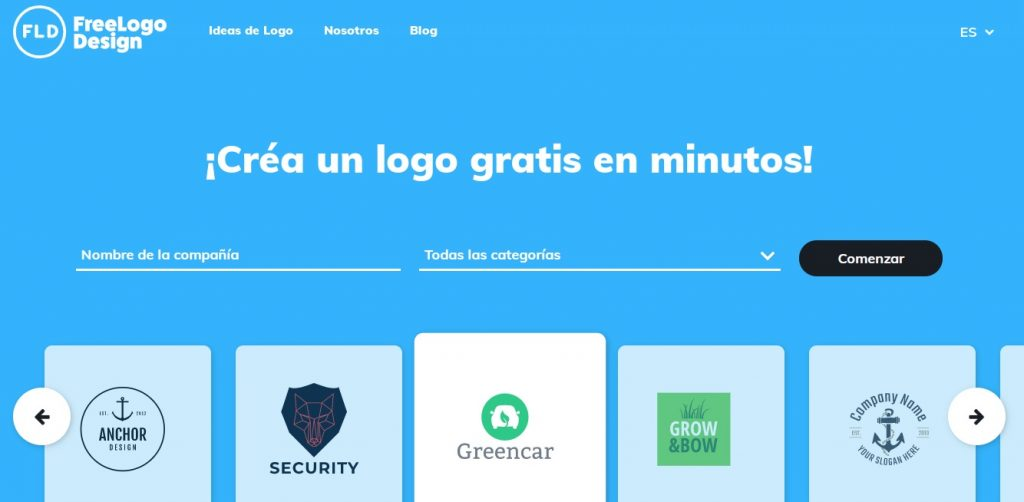 Programa para crear logos gratis en español