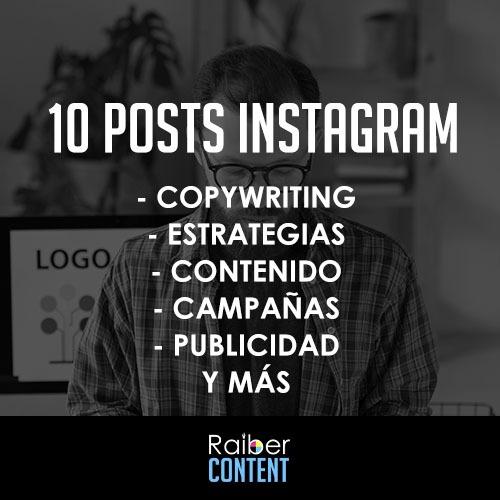 comprar posts para instagram