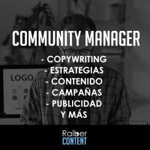 contratar community manager en oferta